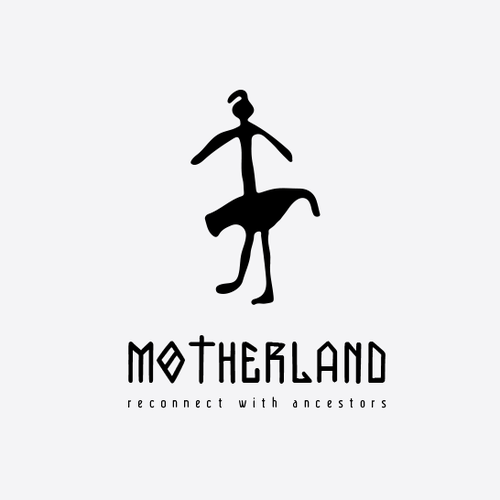 Cosmetics logo with the title '▲▼ ▲ Motherland Called. She needs a logo. Up for a challenge? Show her what ya got. ▲▼ ▲'