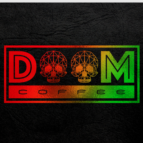 San Francisco design with the title 'Doom Coffee'