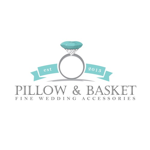 Ring design with the title 'Logo design for Pillow&Basket'