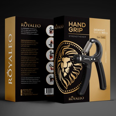 Hand Grip Strengthener Package