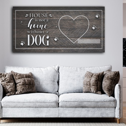 Canvas design with the title 'Canvas dog quotr'