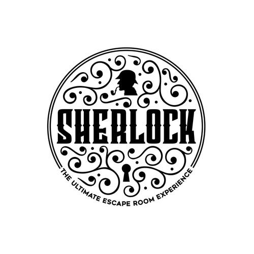 Lock logo with the title 'SHERLOCK'