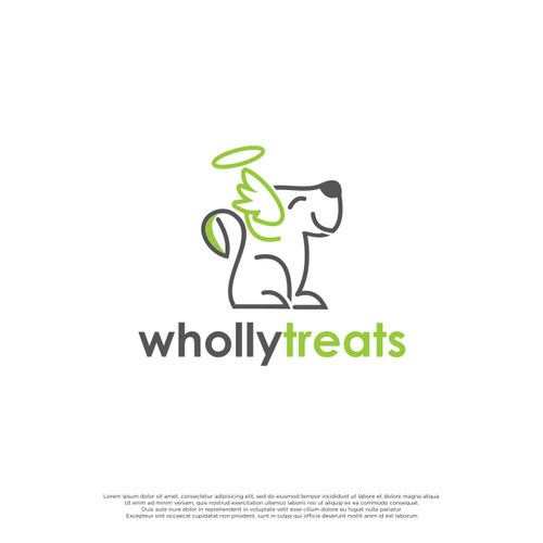 Outline brand with the title 'WhollyTrearts'