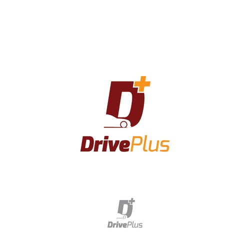 Dive design with the title 'Drive Plus'