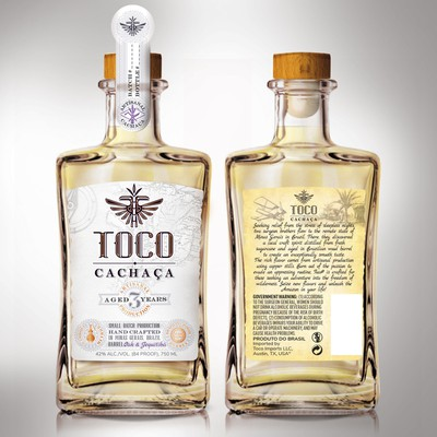 Cachaca Label design.
