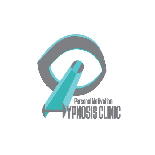 Hypnosis logo with the title 'In contest Health Hypnosis Branding for Weight Loss and Stop Smoking Clinic'
