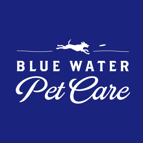 Freedom logo with the title 'Blue Water Pet Care'