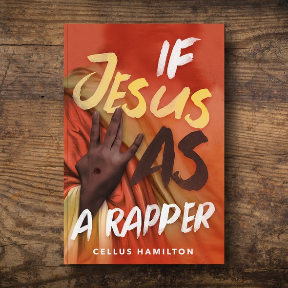 Music design with the title 'If Jesus Was A Rapper Book Cover'