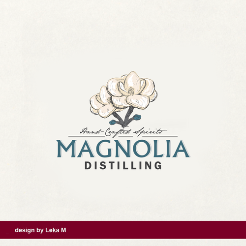 Crafted design with the title 'Magnolia'