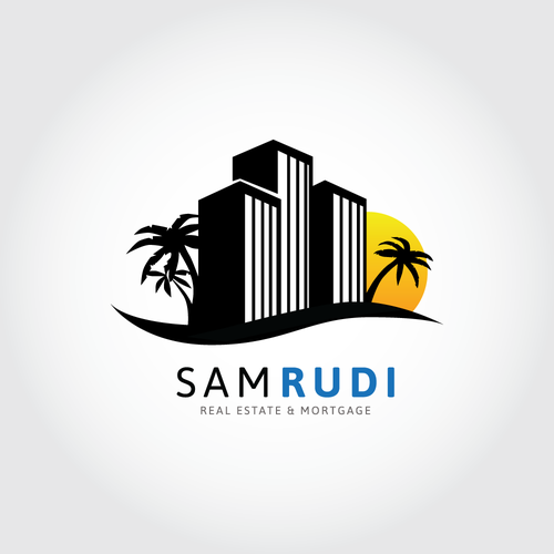 Condominium design with the title 'Sam Rudi Real Estate & Mortgage'