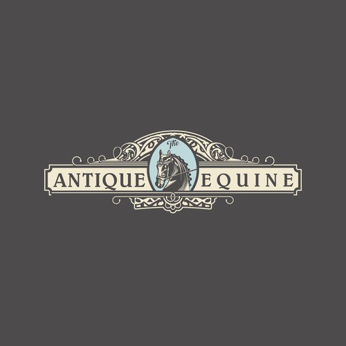 Antique logo with the title 'Vintage logo '