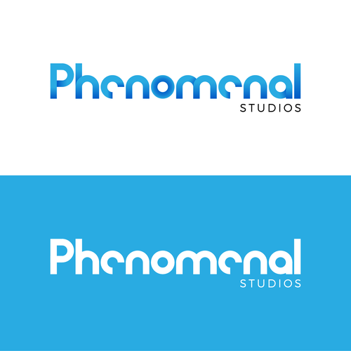 CD logo with the title 'Phenomenal Studio Logo'