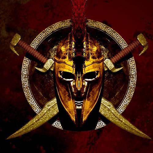 Roman design with the title 'Spartan Logo'