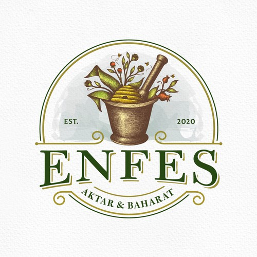 Anesthesia logo with the title 'Enfes'