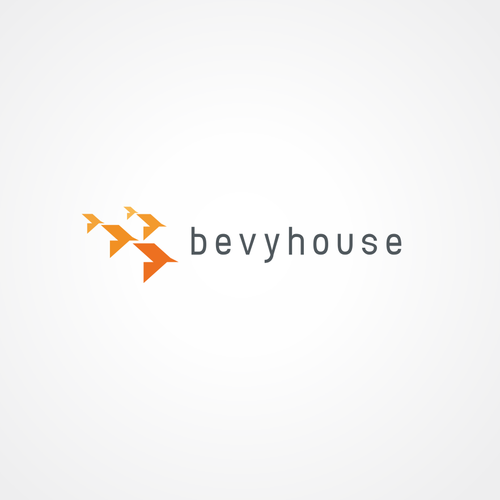 Bird design with the title 'Bevy House'