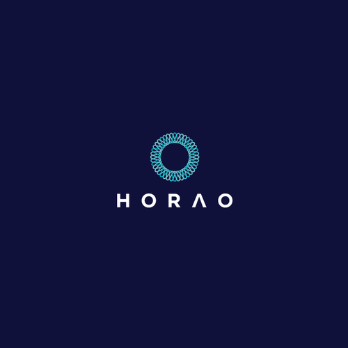 Wave design with the title 'Horao Logo'