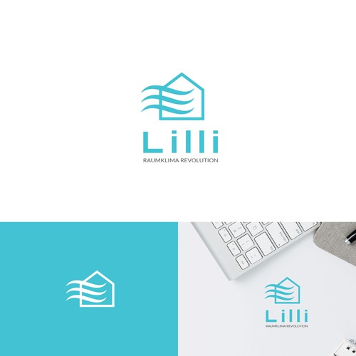 Ecosystem design with the title ' logo Lilli'