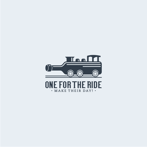 Combination logo with the title 'One For The Ride'