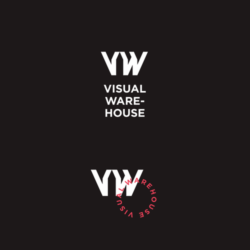 Warehouse design with the title 'Visual Warehouse'
