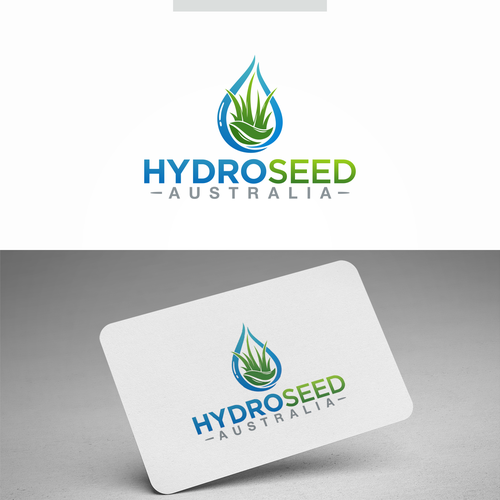 Hydro logo with the title 'Hidroseed Australia'