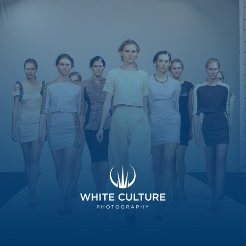 Creative logo with the title 'White Culture Photography'