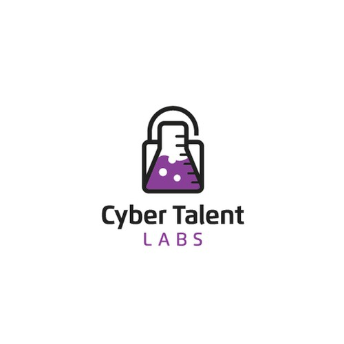 Cyber design with the title 'Logo Designs for Cyber Talent Labs'