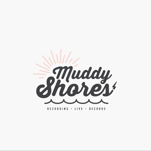 Record logo with the title 'Muddy Shores Logo'