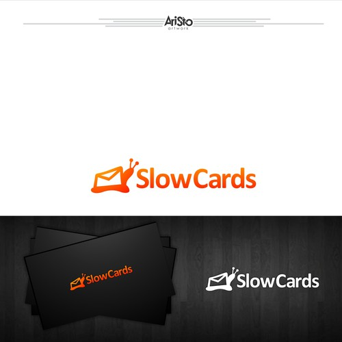 Zip logo with the title 'slow cards'