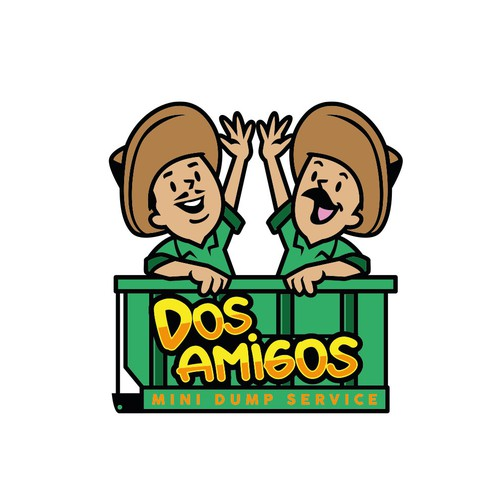 Friendship logo with the title 'Dos amigos'