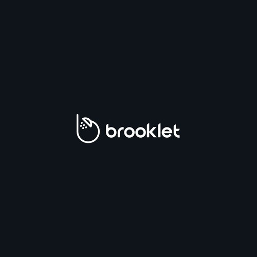 Toilet logo with the title 'Brooklet'