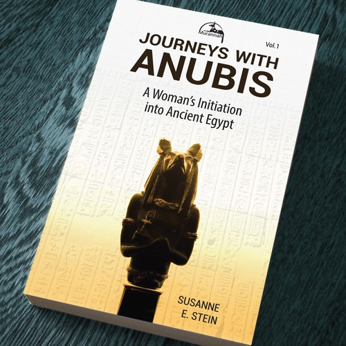 Anubis design with the title 'journeys with anubis'