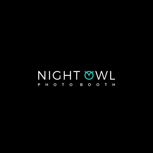 Owl brand with the title 'Logo for Night Owl Photo Booth'