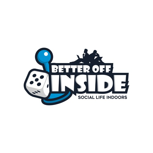 Dice logo with the title 'Better Off Inside'