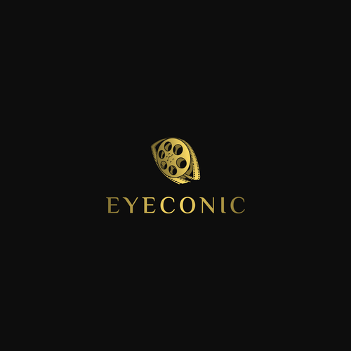 Filmstrip logo with the title 'Eyeconic'