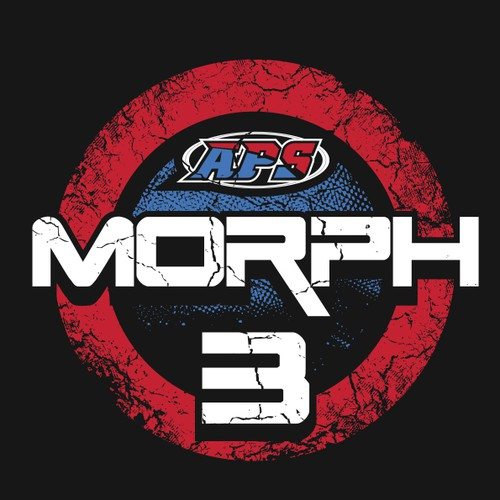 Bold t-shirt with the title 'Bold and grungy design for Morph 3'