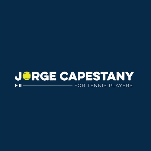 Player logo with the title 'Jorge capestany '