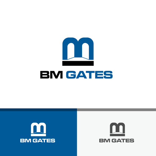 Gate design with the title 'BM Gates'