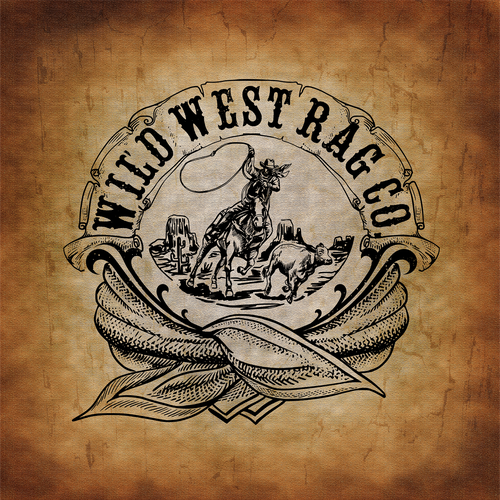 Wild West logo with the title 'logo for wildwestragco'