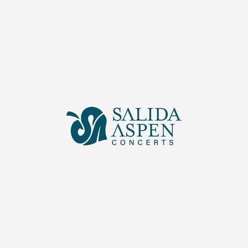 Classical design with the title 'Logo for a Classical Music Organization'