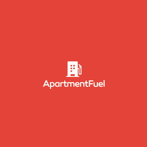 Apartment logo with the title 'ApartmentFuel Logo'