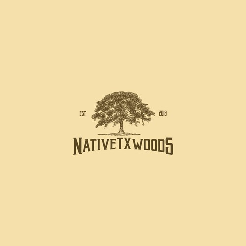 Tree logo with the title 'Entry for NativeTXWoods'