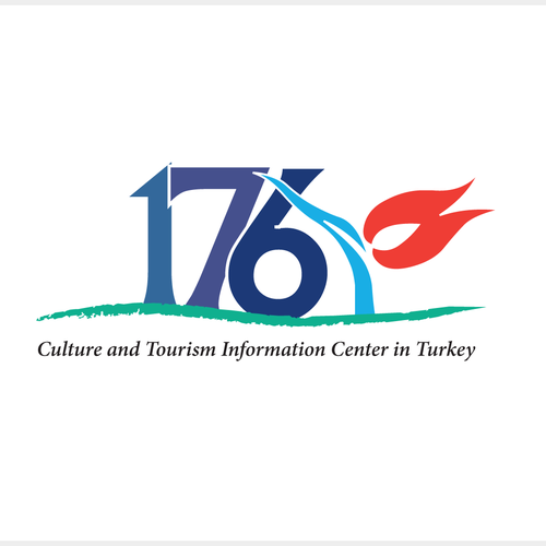 Turkey logo with the title 'Logo concept for tourism logo'
