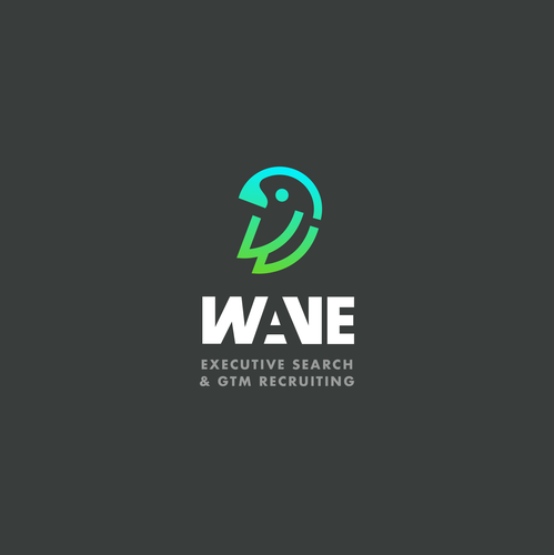 Executive logo with the title 'Wave logo'
