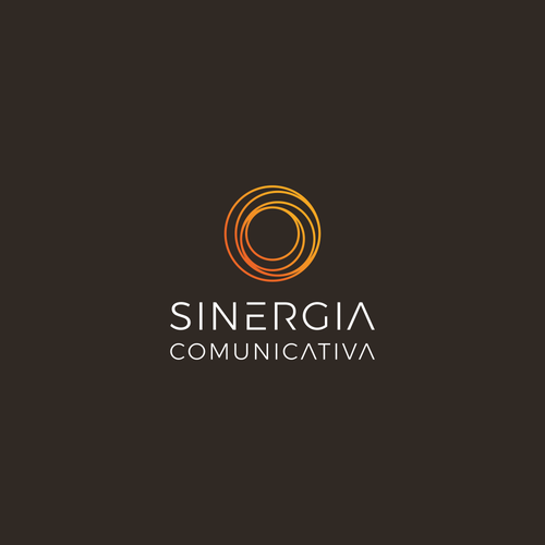 Training logo with the title 'Minimalist logo for communication consulting: Sinergia Comunicativa'