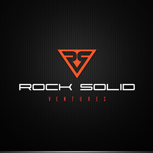 Triangle brand with the title 'Rock solid ventures'