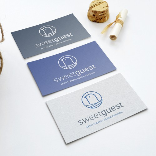 Nest design with the title 'Sweet Guest'