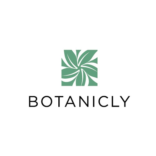 Green leaf logo with the title 'Botanicly'