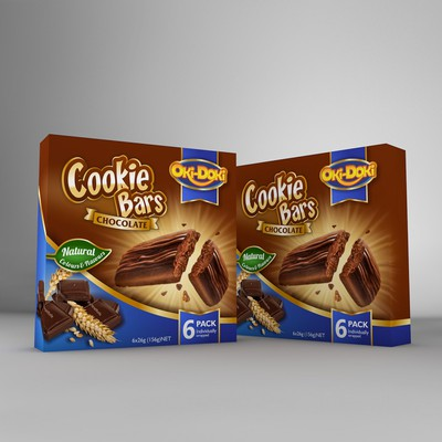 Eye cathing package design for cookie bars