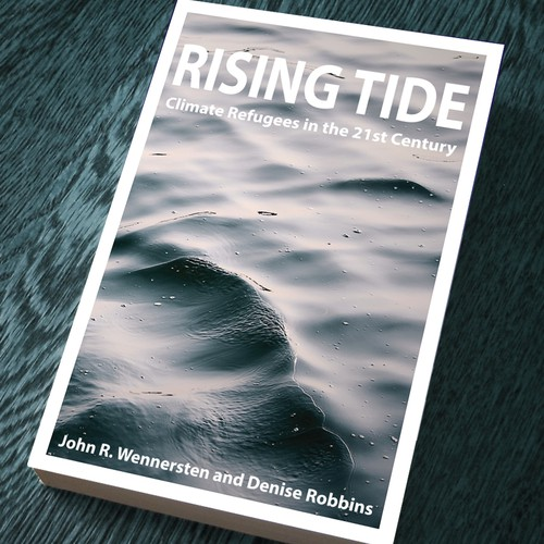 Climate change design with the title 'Rising Tide. '
