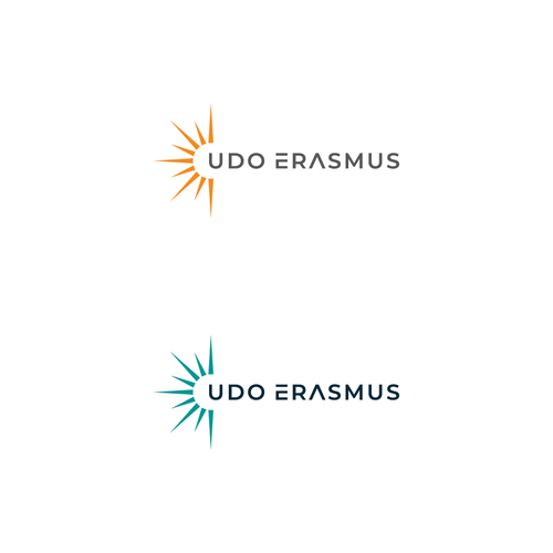 Motivational logo with the title 'Udo Erasmus'